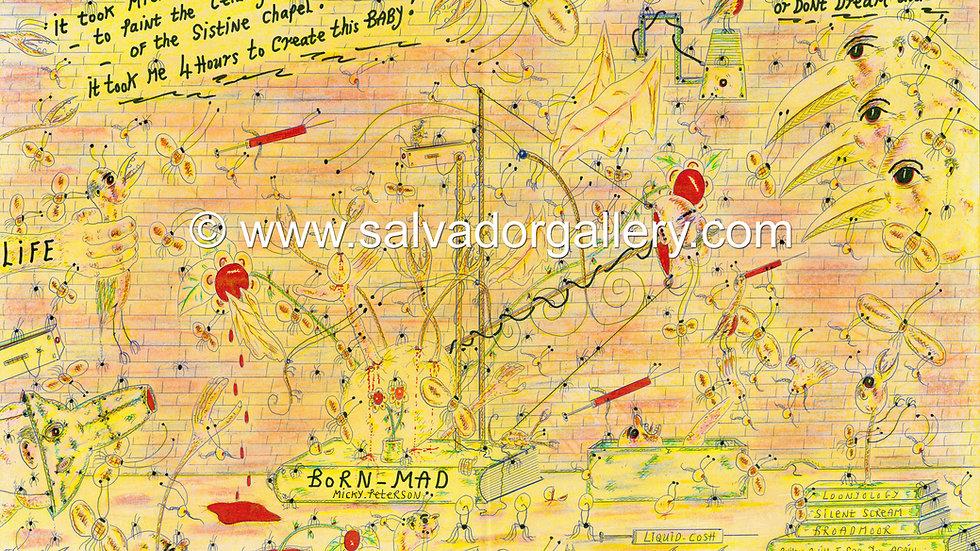 A3 PRINT 'Dream Big' - A3 Limited Edition Artwork 1/250