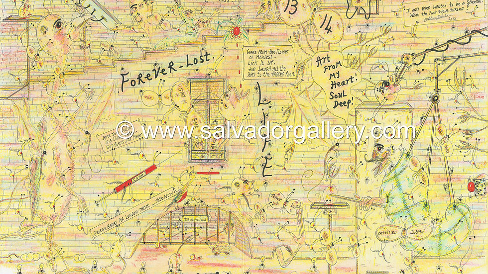 A3 PRINT 'Forever Lost (2)' - A3 Limited Edition Artwork 1/250