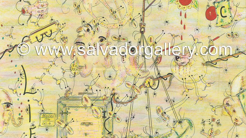 Charles Bronson Salvador Original Artwork -Lifemare