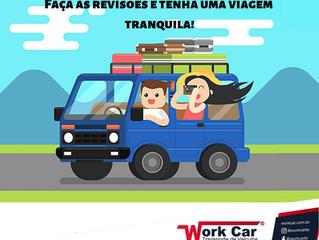 Vai viajar? Já conferiu se o carro está em perfeitas condições?
