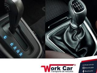 Câmbio manual ou automático?