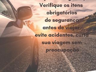 Confira os itens de segurança que não podem faltar no seu carro!