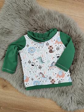 Shirt Grün Zoo Babys