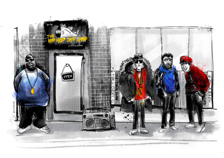 The Hip Hop Chip Shop, Manchester