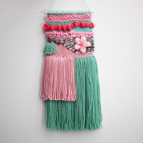 Miami Vice wool hanging