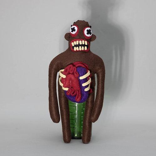 Zombie felt toy