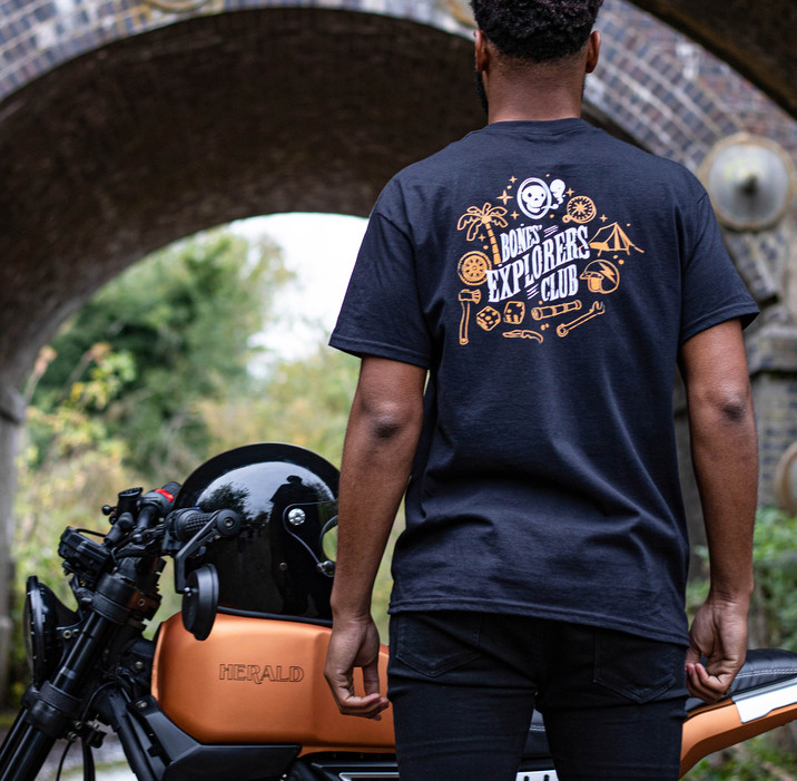 Herald Motor co. clothing