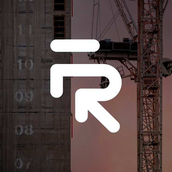 Flain Resourcing brand identity: Construction recruitment, London