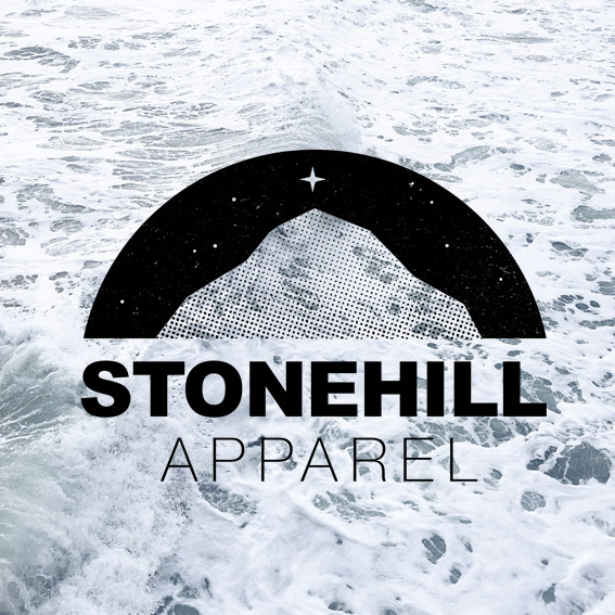 Stonehill Apparel brand identity: Outdoors clothing, London