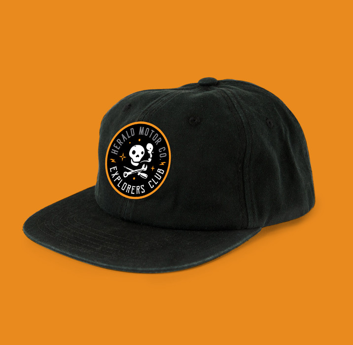Herald Motor co. cap design