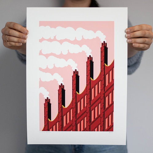 Chimney Stacks print
