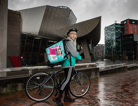 Deliveroo Missing People Campaign