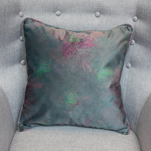 Dark Floral Cushion
