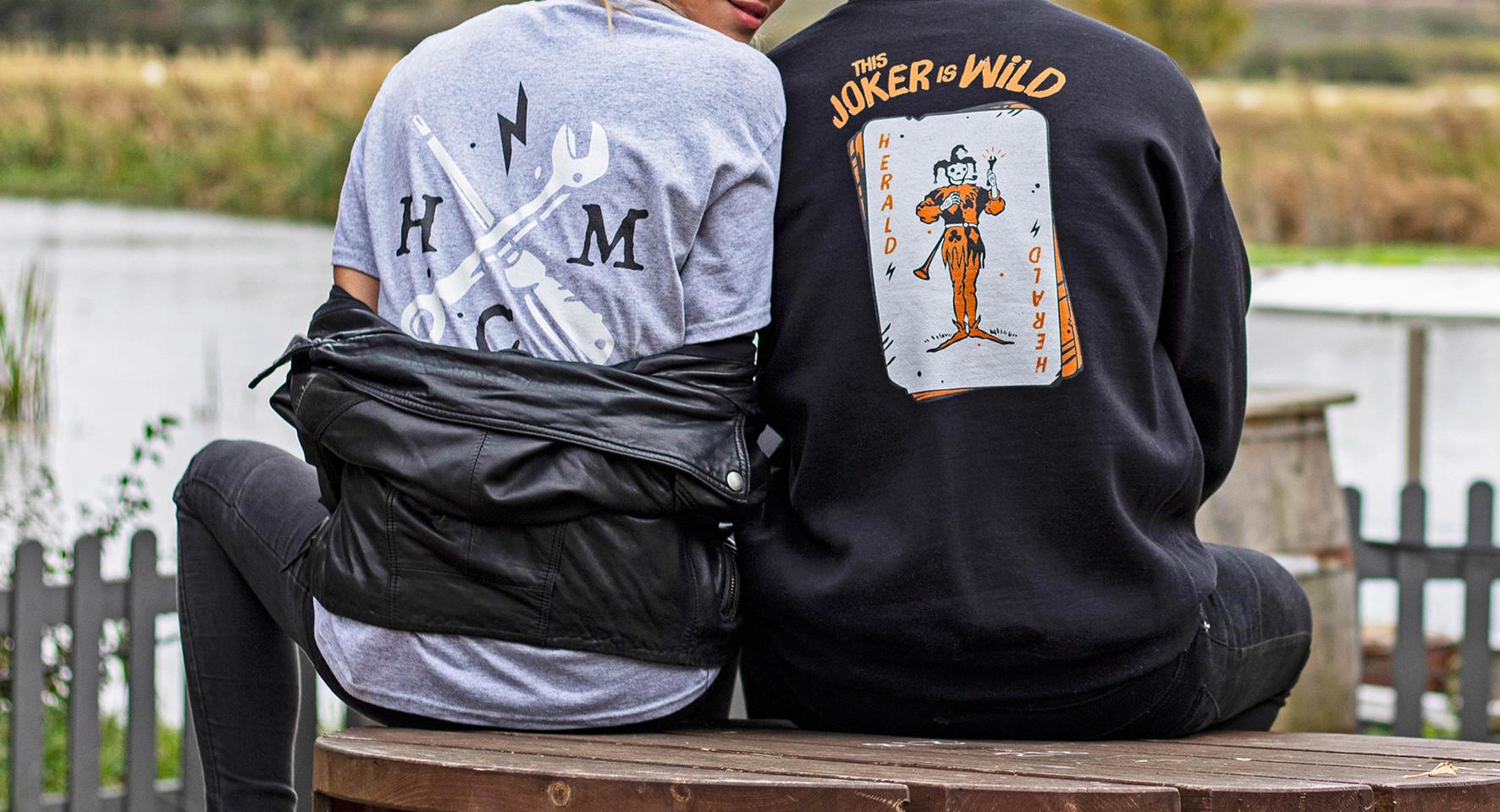 Herald Motor co. clothing