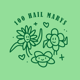 100 Hail Marys Social Content
