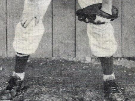 Bettsville's Jack Hoffman: promising baseball career cut short in railroad accident at Basic plant
