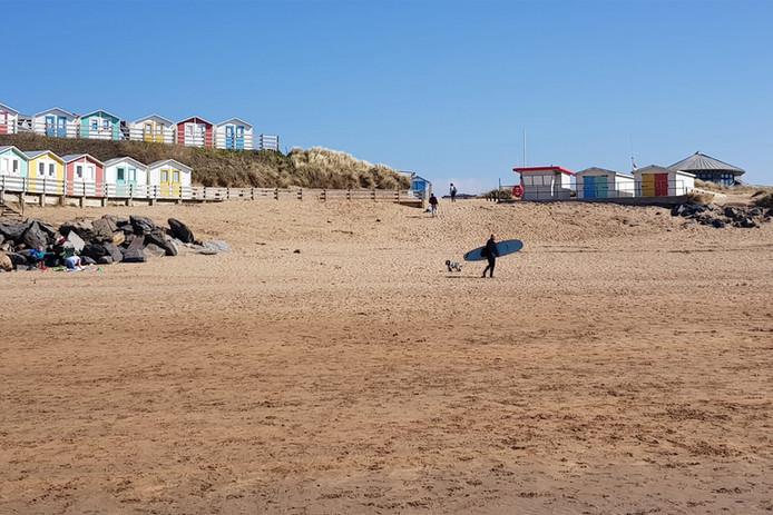 Summerleaze Beach in March
