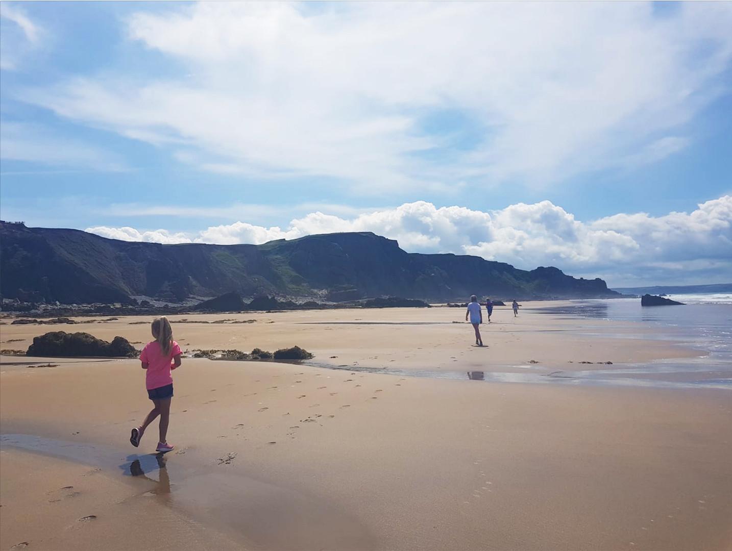 Sandymouth to Summerleaze