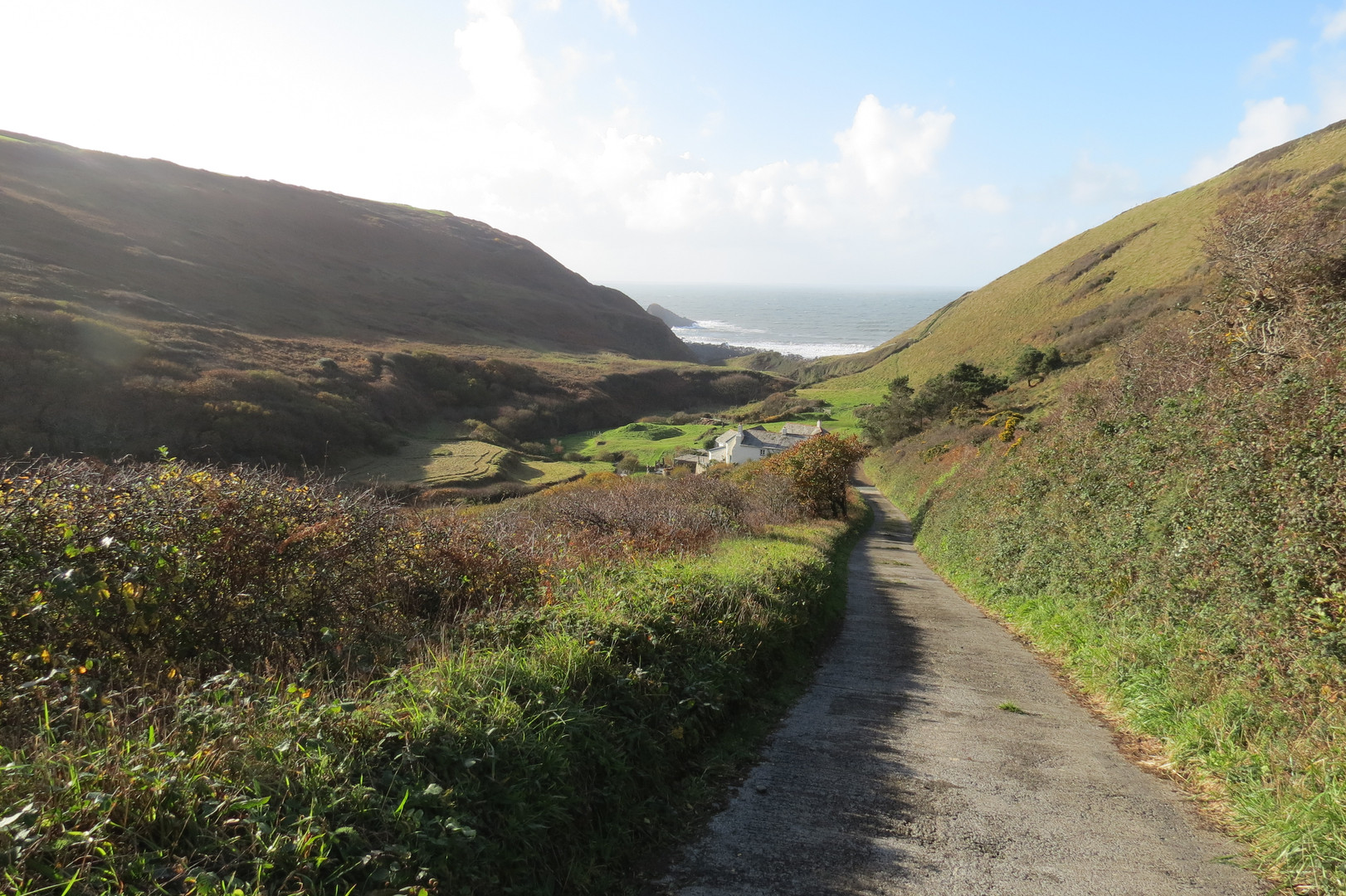 Walk to Marsland Mouth
