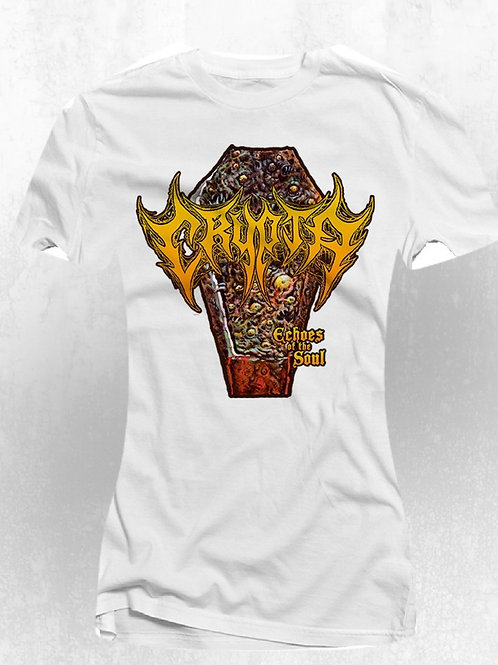 T-Shirt Crypta -Echoes of the Soul  -(White) (Woman)- ( 16 dollars )