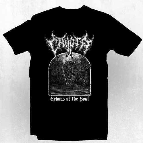 T-Shirt Crypta - Echoes of the Soul (b&w) $16 Dollars