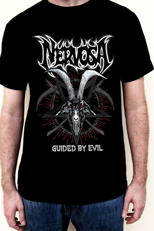 T-Shirt NERVOSA - Guided By Evil