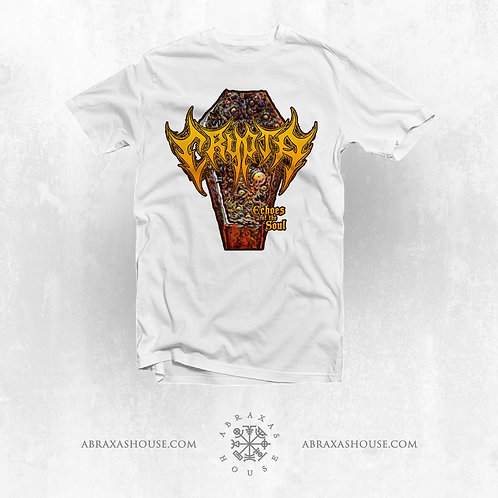 T-Shirt Crypta -Echoes of the Soul  -(White)- ( 16 dollars )