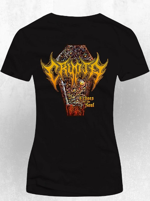 T-Shirt Crypta - Echoes of the Soul (dama) $16 Dollars