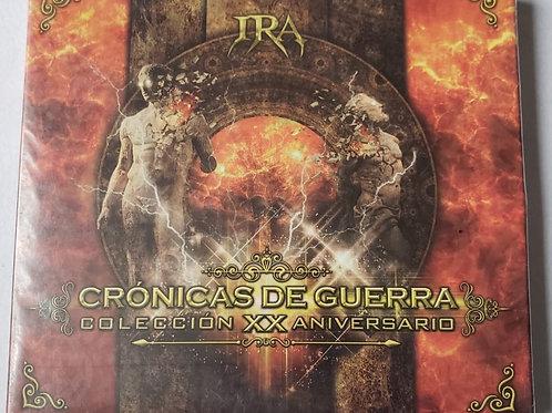 IRA - CRÓNICAS DE GUERRA , SET DE 4 DISCOS