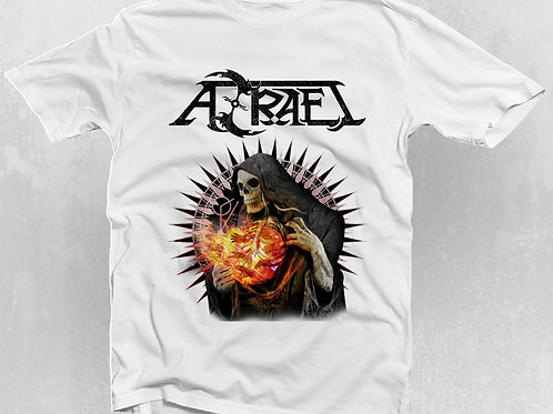 T-Shirt AZRAEL - Oficial Blanca