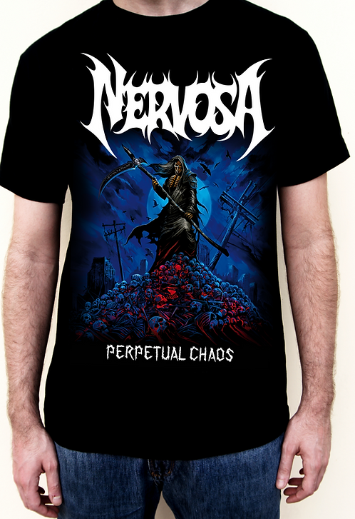 T-Shirt NERVOSA - Perpetual Caos