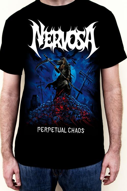 T-Shirt NERVOSA - Perpetual Chaos