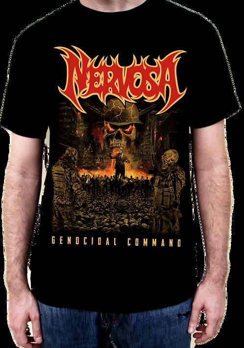 T-Shirt NERVOSA - Genocidal Command