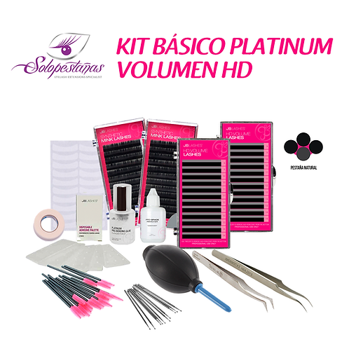 KIT BÁSICO PLATINUM VOLUMEN HD