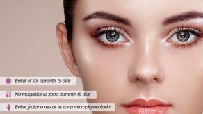 Cuidados Especiales de la Micropigmentación