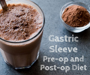 From liquids to solids: What to expect from the gastric sleeve pre-op and post-op diet