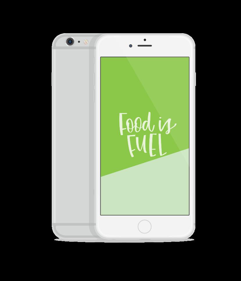 Food is Fuel Screen