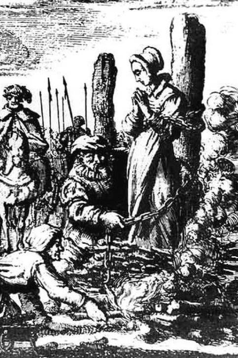 Den sidste heksebrand - en historisk roman
