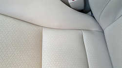 Leather Car Seat Repaired