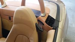 Damaged Maserati Panel