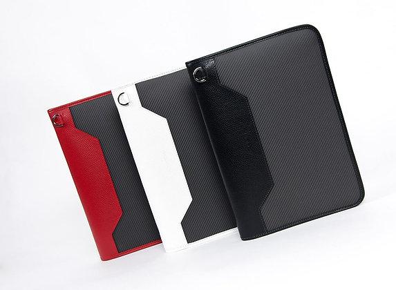 AZNOM カーボンファイバー iPadビジネスケース