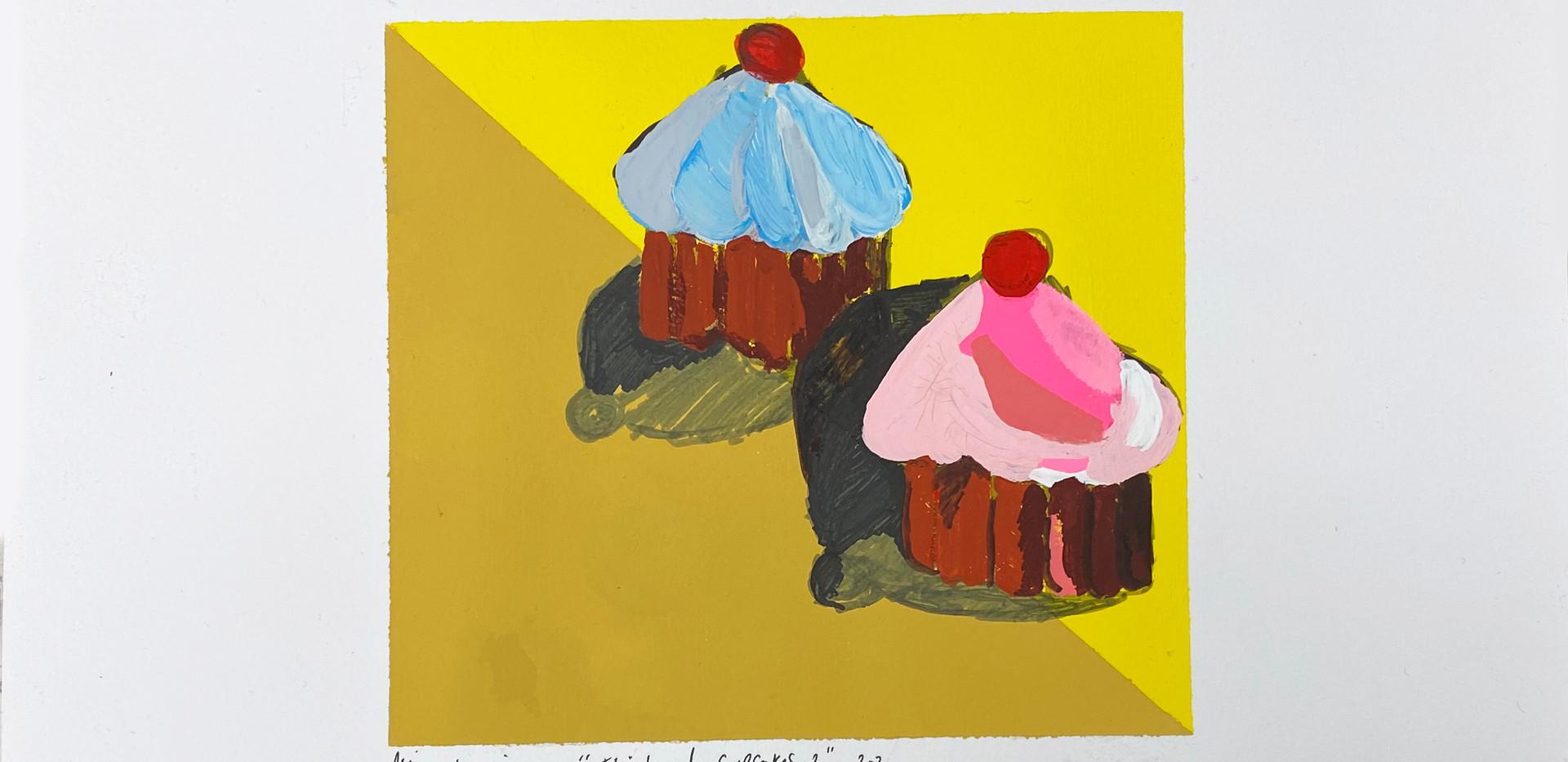 Thiebaud Cupcakes 2, 2020.