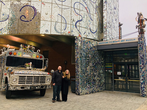 House of Stronzo Director Matt White and American Visionary Art Museum Executive Director Rebecca Hoffberger Film Showing