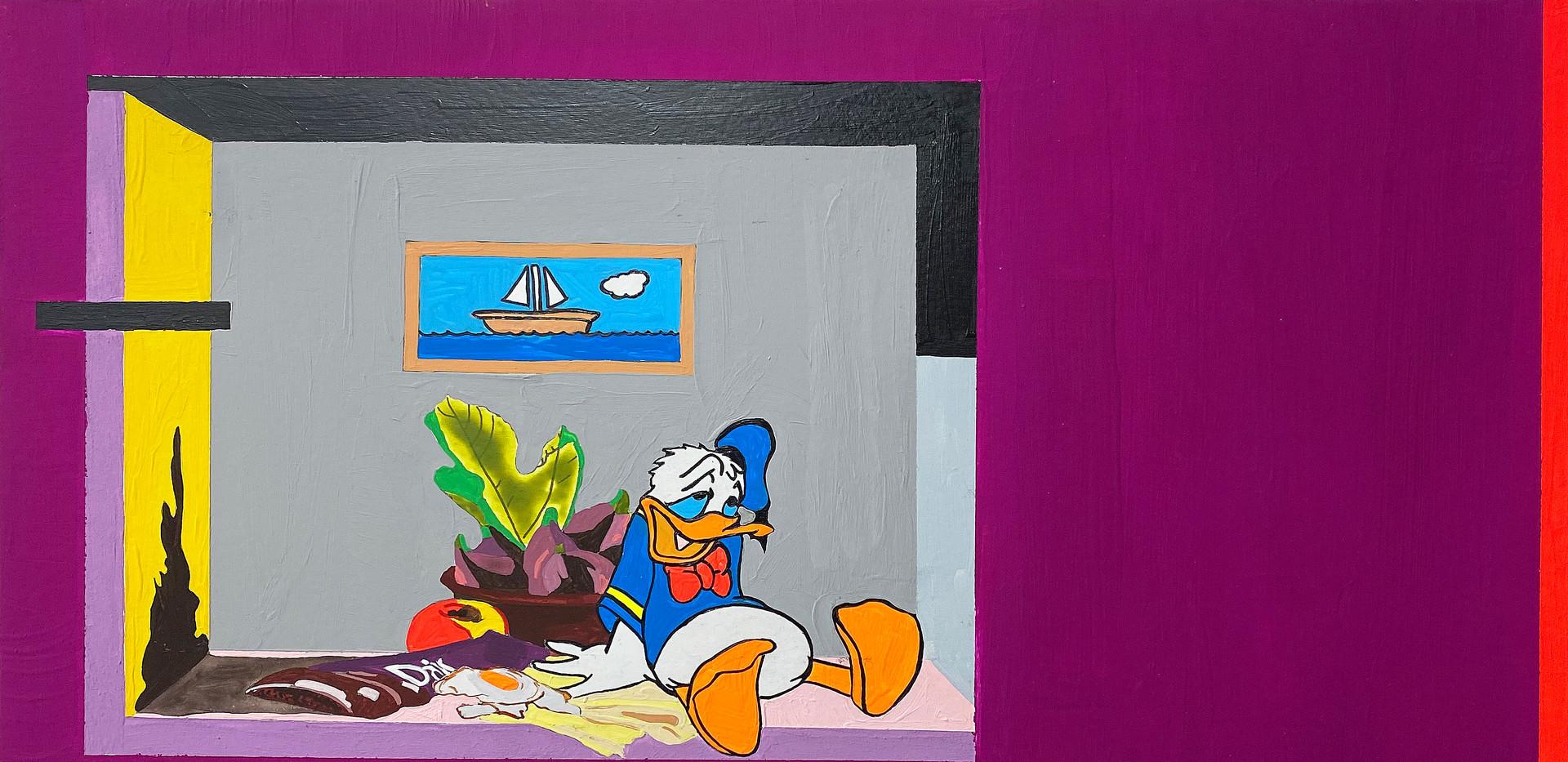 Donald's Magenta Dream.