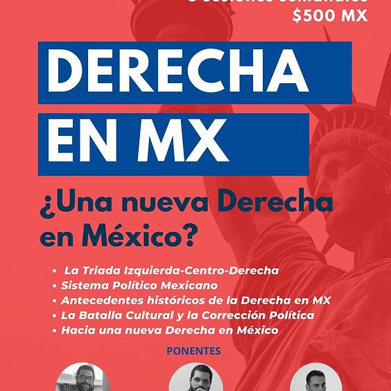 Curso DERECHA EN MX