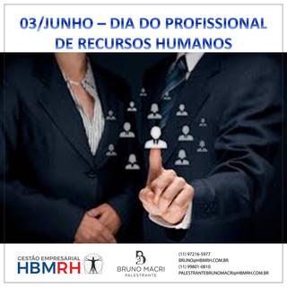 DIA DO PROFISSIONAL DE RECURSOS HUMANOS