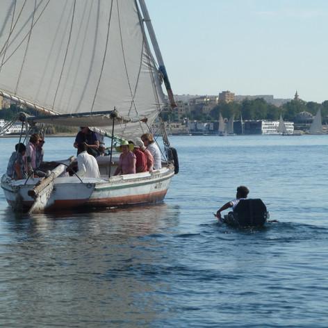 Felucca, Nile River