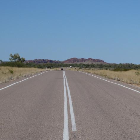 The road to Halls Creek
