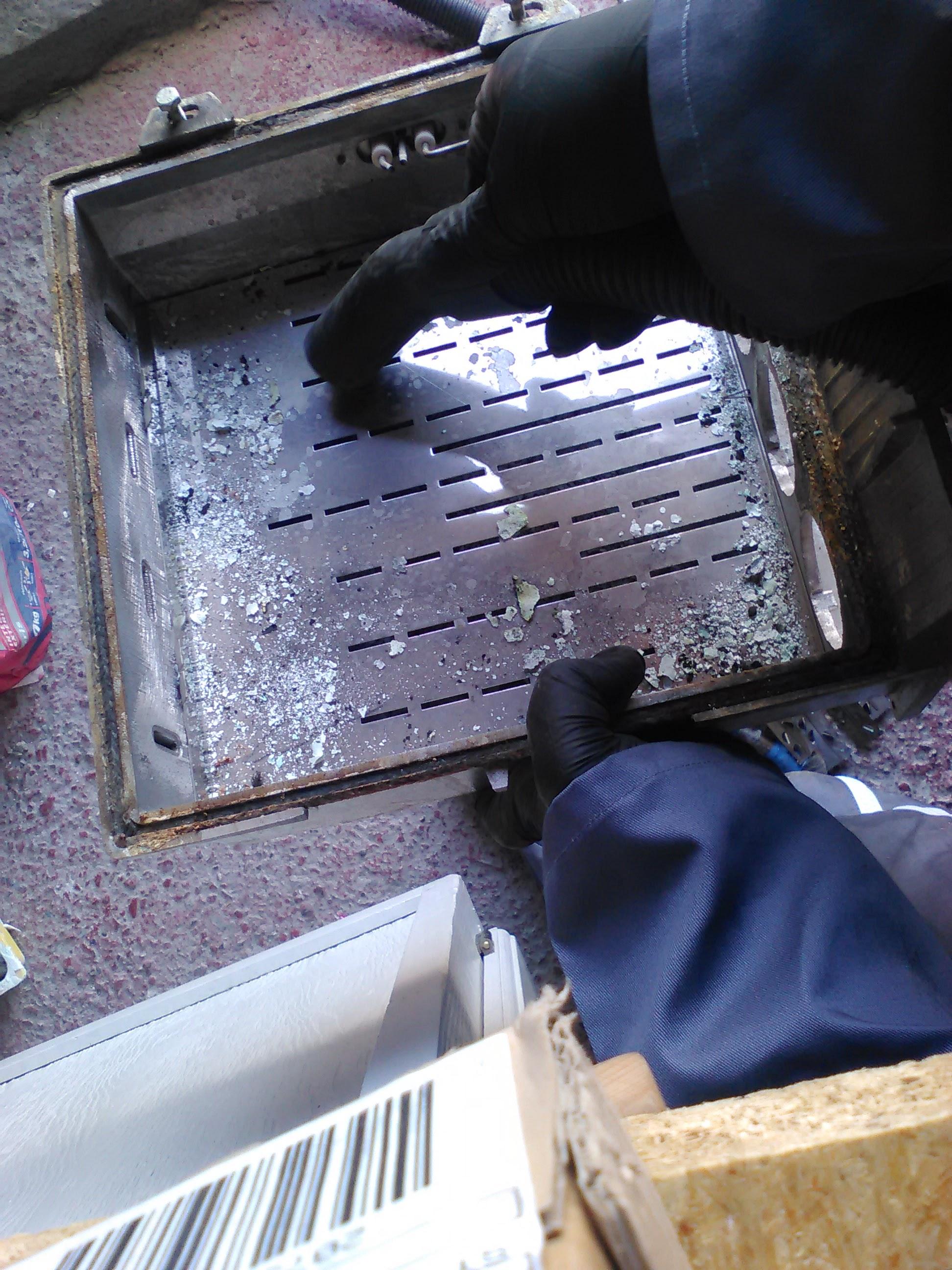 Nettoyage brûleur atmosphérique gaz