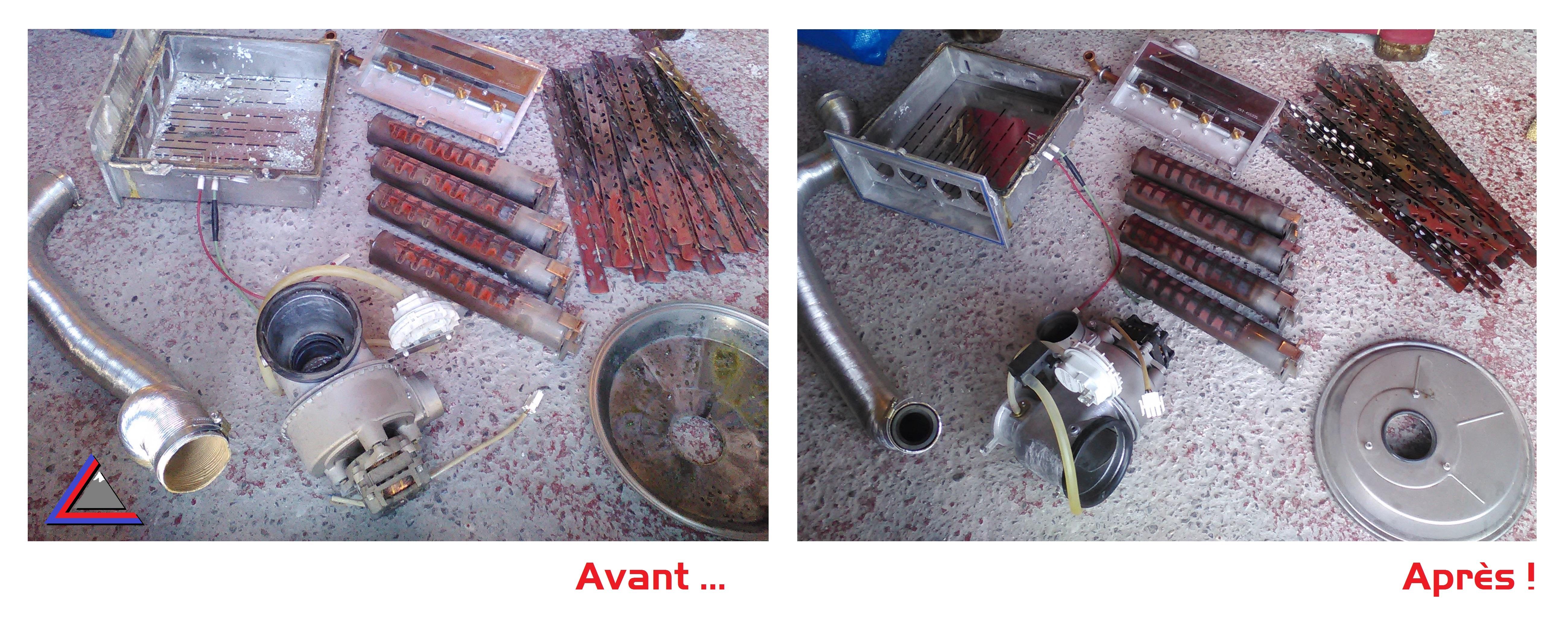 Nettoyage brûleur athmosphérique